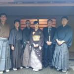 靖国神社にて大統領側近に茶席を仰せつかりました